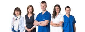 Smile Designers fogorvosi rendelő csapata